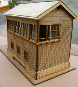 Signal Box based on Pewsey GWR in 7mm & 10mm