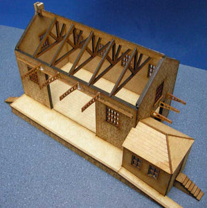 Goods Shed based on Princetown - GWR in 4mm & 7mm