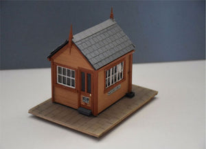 Signal Box based on Tetbury GWR - in 7mm