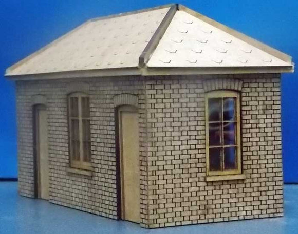 Platform Cycle Shed based on Tetbury - GWR