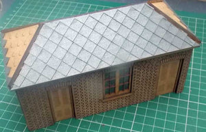 Platform Cycle Shed based on Tetbury - GWR in 4mm & 7mm