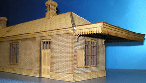 Station based on Tetbury GWR - in 7mm