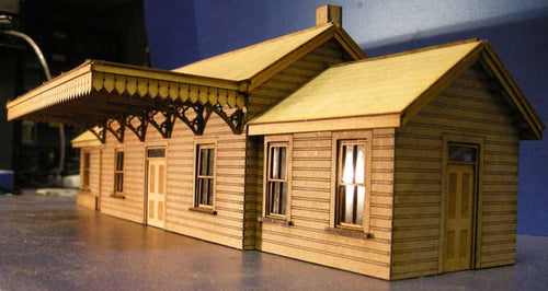 Country Station based on Chudleigh - GWR in 4mm & 7mm