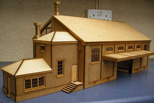 Goods Shed based on Tetbury - GWR in 7mm
