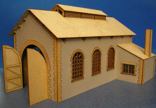 Engine Shed based on Helston - GWR in 7mm