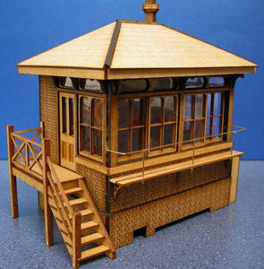 Signal Box based on Drayton LBSCR in 4mm & 7mm