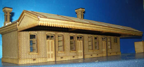 Country Station based on Rhoystyllen GWR -in 4mm & 7mm