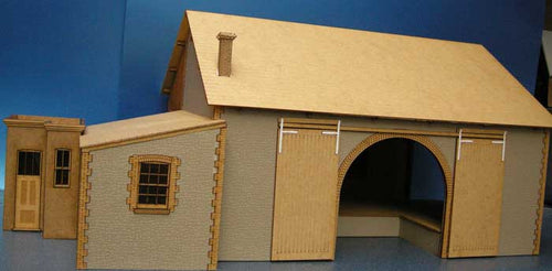 Goods Shed based on Helston - GWR in 7mm