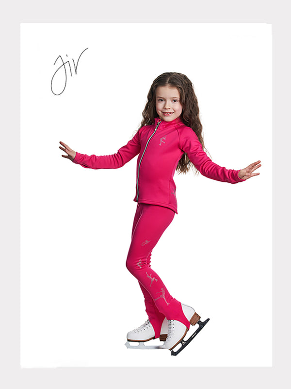 JIV Sport Jacke PRINCESS + LEGGINGS TODDLER