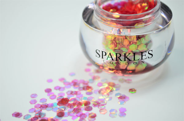 Sparkles London Glitter Salmon