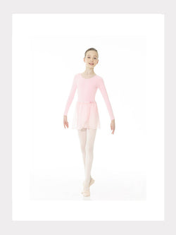 Ballett Chiffon Wickel-Rock in Pink und Schwarz