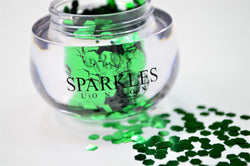 Sparkles London Glitter green