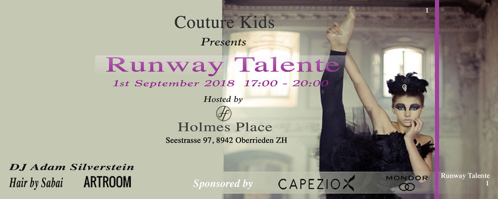 Runway Talente Show-Ticket Child
