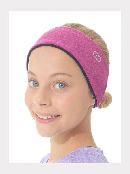 Mondor Stirnband Ohrenwärmer Heather Pink Kinder