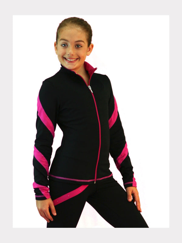 Trainingsjacke Pink Swirls