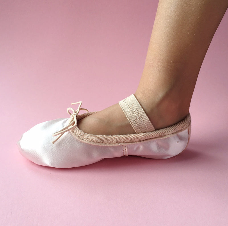 Daisy Satin Ballettschuhe Light-Pink