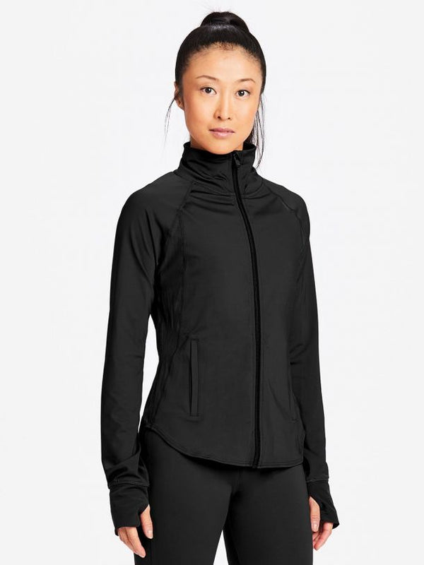 Capezio Renewal Warm up Jacket black