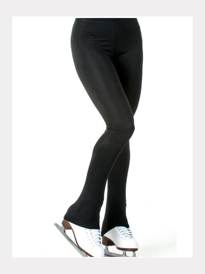 Eislauf Leggings Black Stones