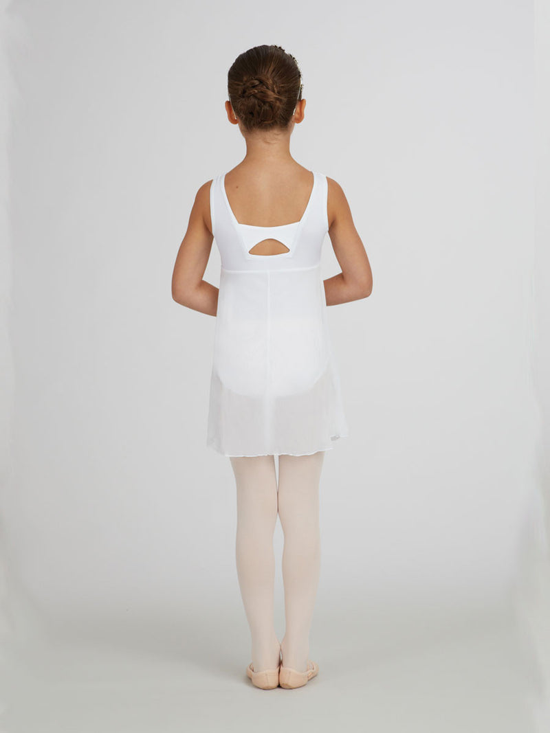 Capezio Empire Dress white Children