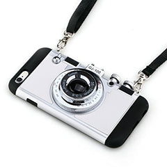 Photo Camera Cases For iPhone Models 5, 6, & 7