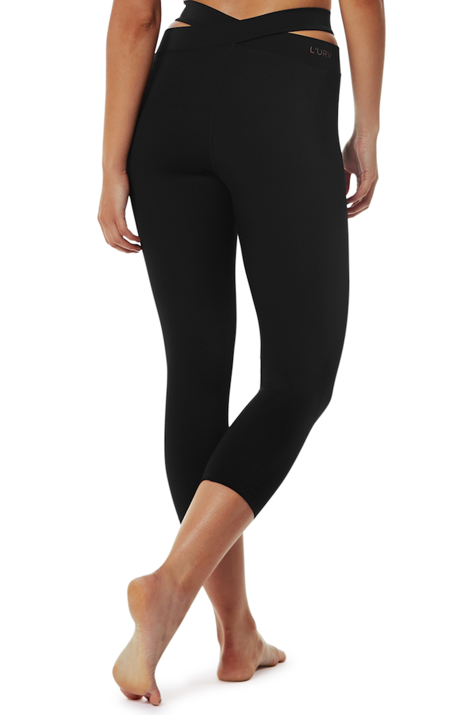 Evolution 3/4 legging 1 - L'urv - black