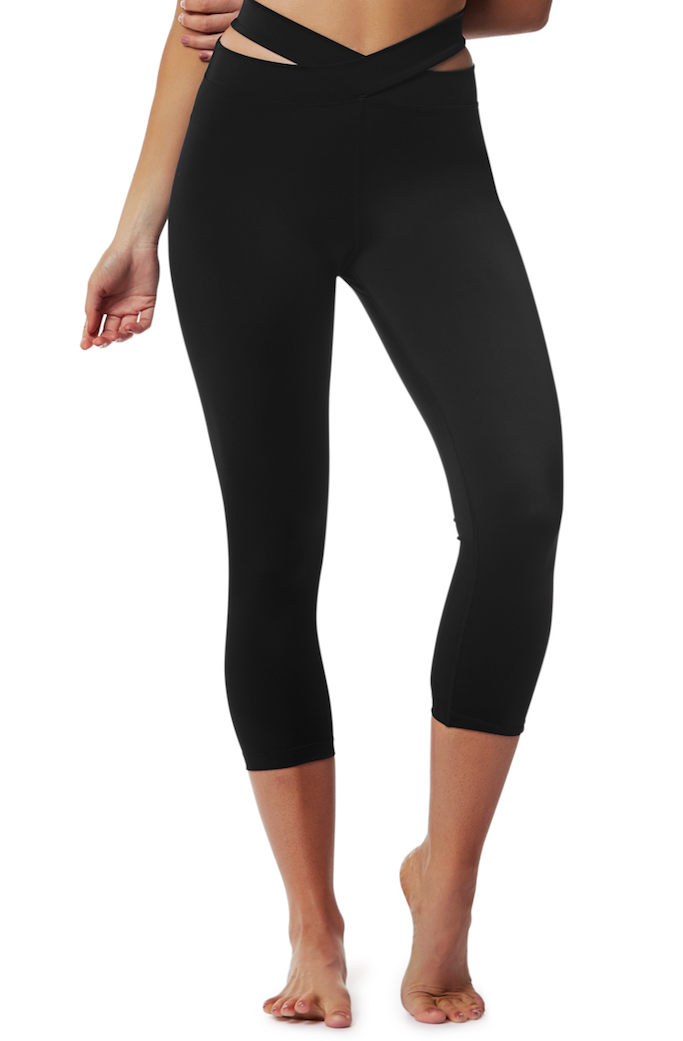 Evolution 3/4 legging - L'urv - black