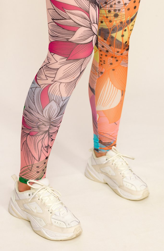 CACTUS 1 - HUNKON - YOGA LEGGINGS