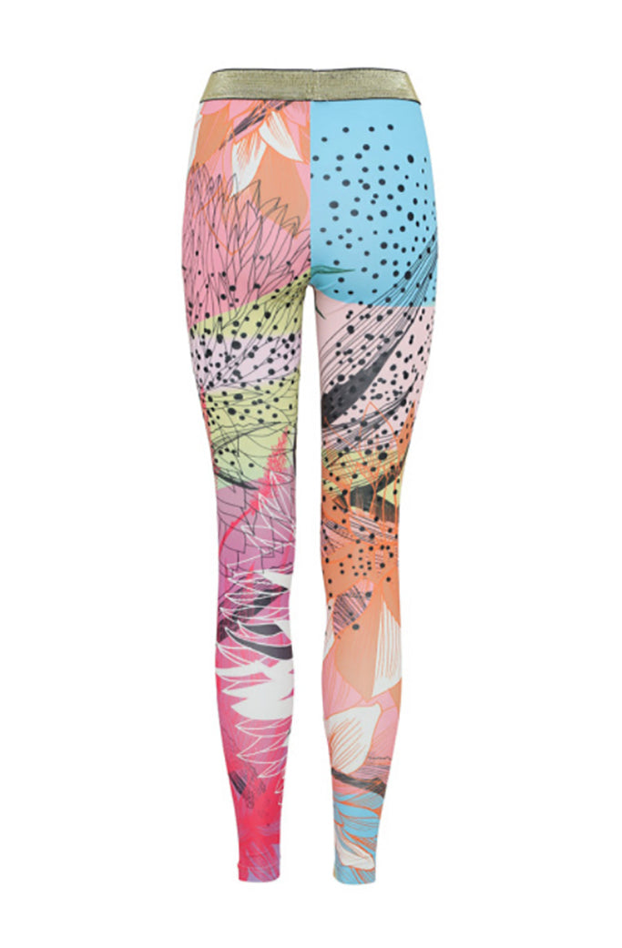 CACTUS 3 - HUNKON - YOGA LEGGINGS
