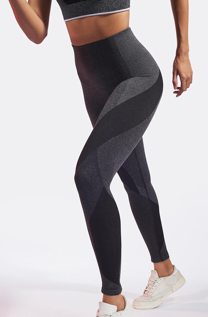 LAUNCH leggings 1 - LNDR -Dark Grey Marl