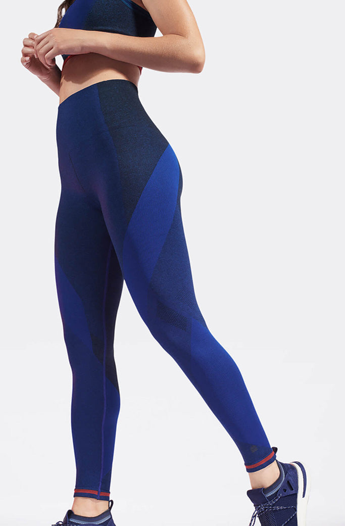 LAUNCH leggings 1 - LNDR - Deep Blue