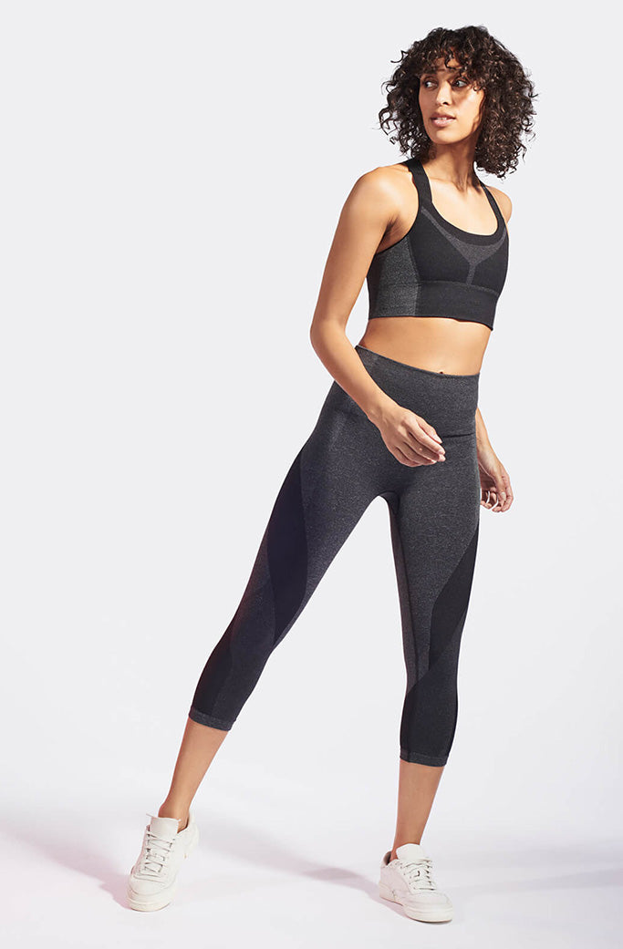ROCKET SPORTS BRA 3 - LNDR - DARK GREY MARL