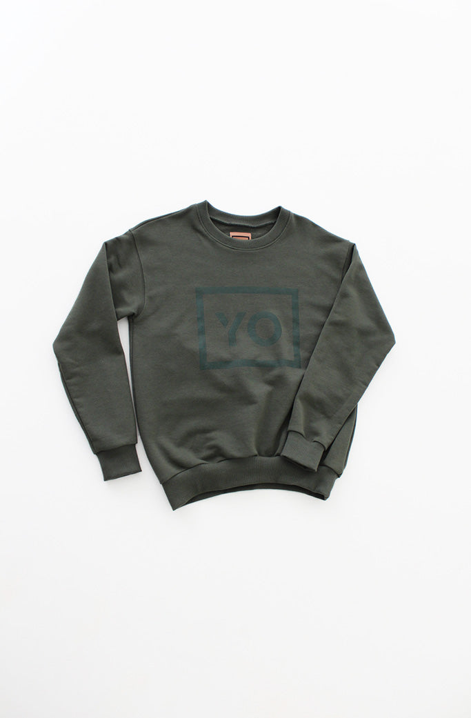 MALENE SWEAT - YO COLLECTION - ARMY