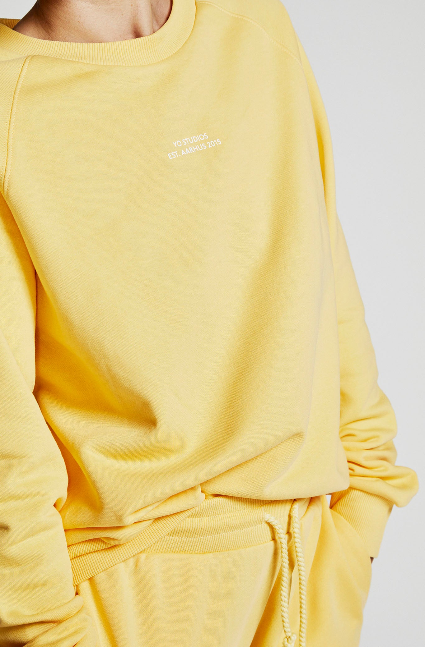 MALENE SWEAT LTD 4 - YO COLLECTION 2.0 - YELLOW