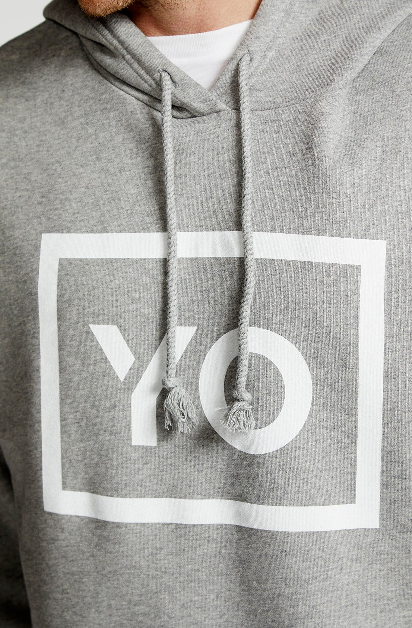 NOR HOODIE 2 - YO COLLECTION 2.0 - GREY