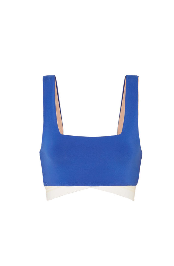 OLYMPIA - ARROW BRA - COBALT