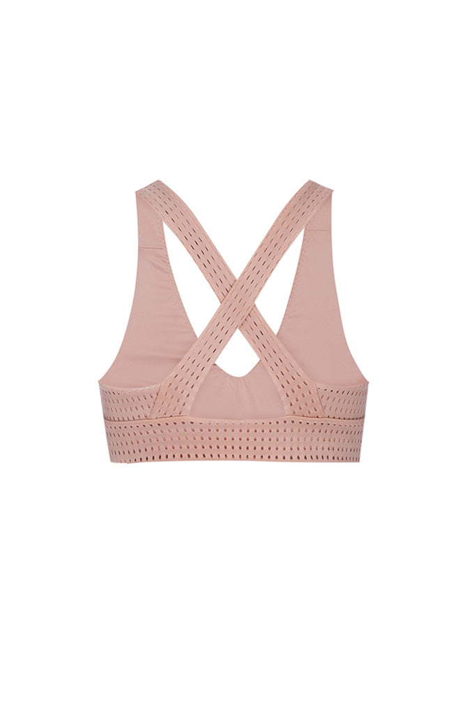 JAMES BRA 2 - OLYMPIA - BLUSH MESH