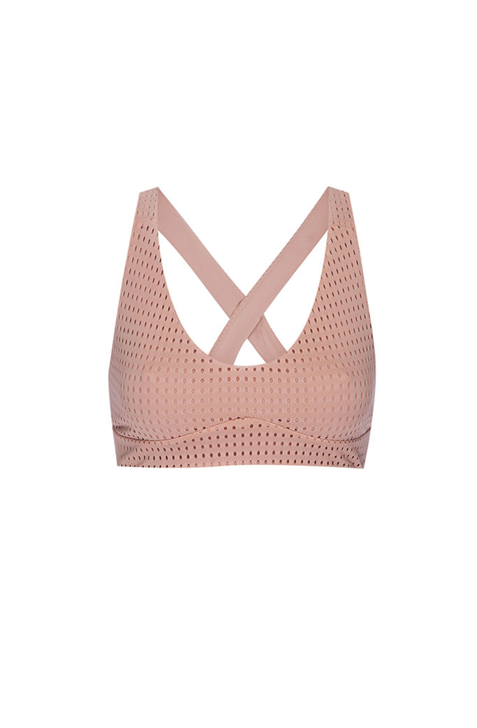 JAMES BRA 1 - OLYMPIA - BLUSH MESH