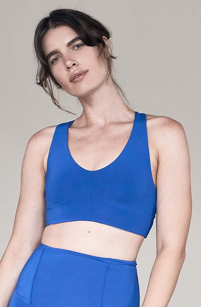 JAMES BRA 2 - Olympia Activewear - COBALT