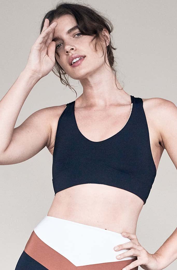 JAMES BRA 1 - Olympia Activewear - JET