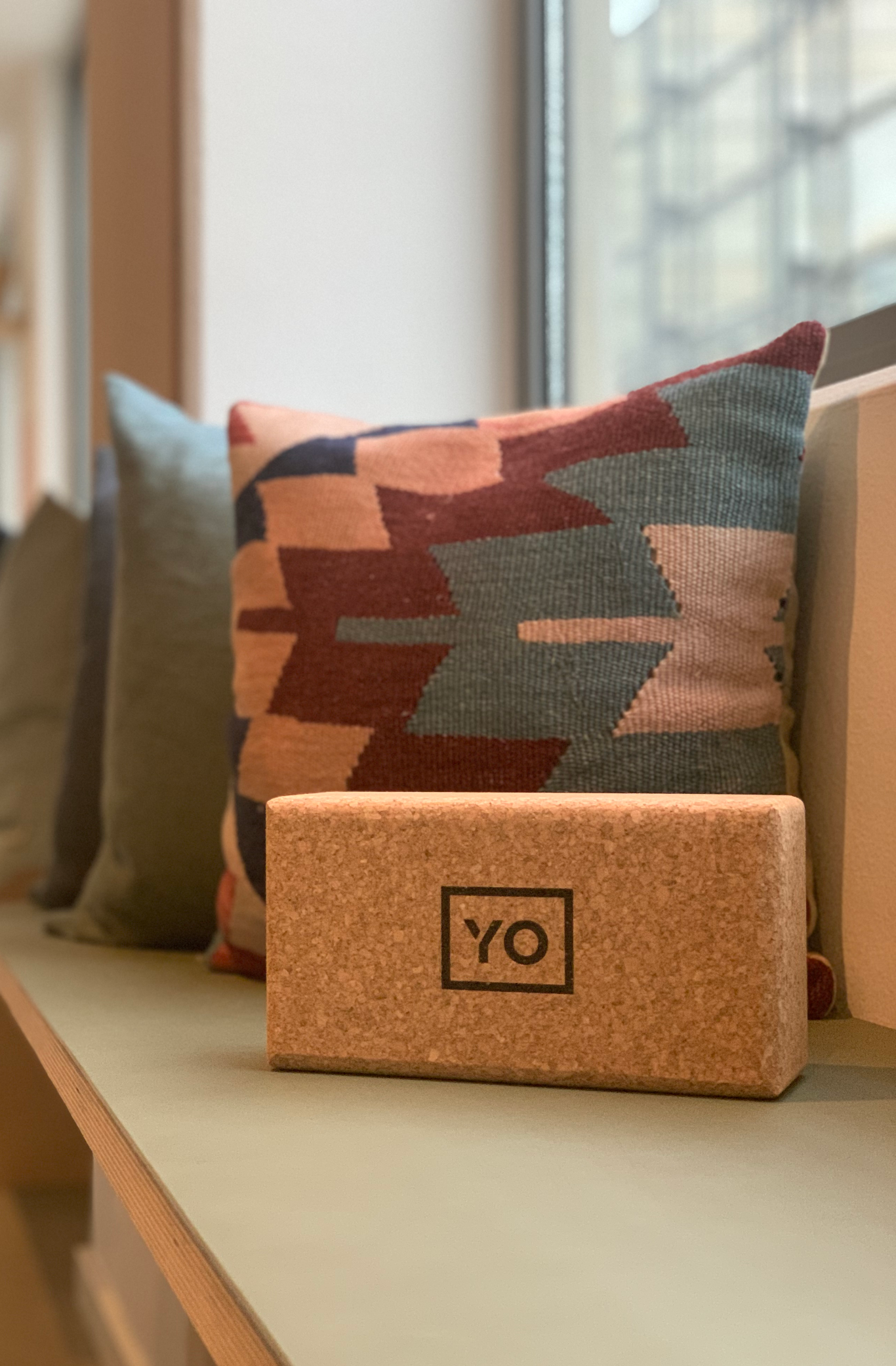YO YOGA BLOCK - CORK