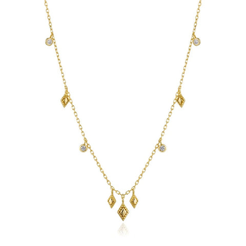 Halsketting Ania Haie Gold Bohemia Necklace