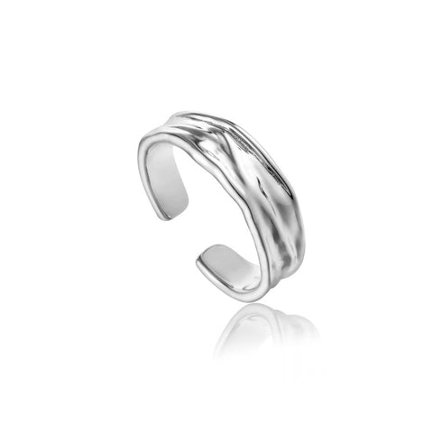 Ring Ania Haie Silver Crush