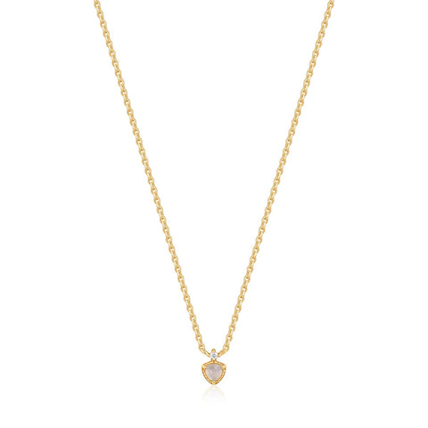 Halsketting Ania Haie GOLD MIDNIGHT FEVER NECKLACE