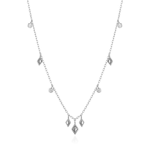 Halsketting Ania Haie Silver Bohemia Necklace