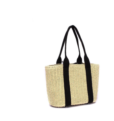 CABA TOTE BEACH BAG BEIGE