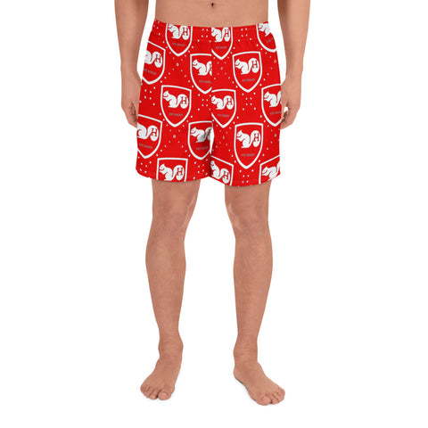 Red Alert Men's Athletic Euro Trunks