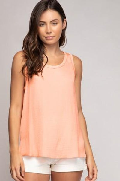 Smooth Scoop Tank Top