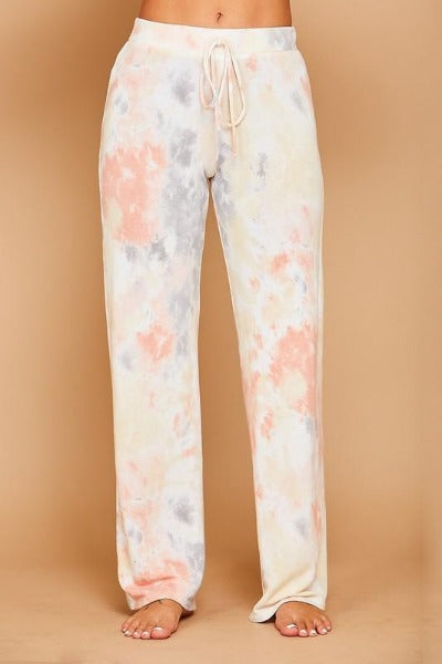 Soft Subtle Tie Dye Lounge Pants