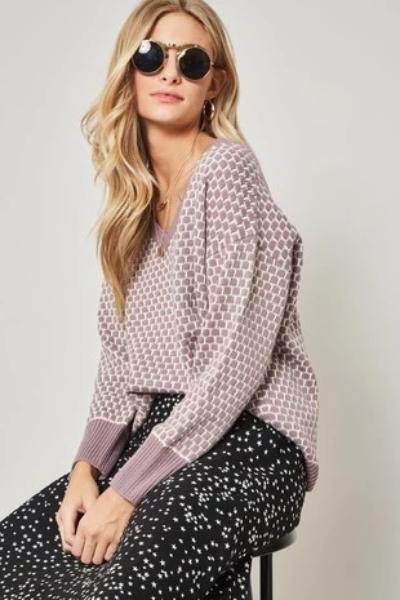 Honeycomb Sweater - Free Souls Boutique
