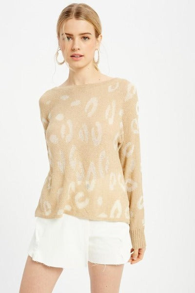 Thin Leopard Sweater